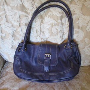 Chaps Purple Purse Handbag Bag